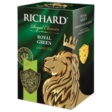 «<b>Richard Royal Green зеленый</b> листовой <b>чай</b>, 90 г» — Продукты ...