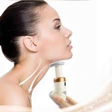 Portable Mini Chin Massager <b>Jaw Exerciser Neck</b> Slimmer Neckline ...