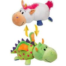 Мягкая игрушка <b>вывернушка 1toy вывернушка</b> единорог-дракон ...
