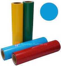 Термопленка ACE <b>Flock</b>, <b>голубая</b>, ширина 500 мм (1 п.м.) купить в ...