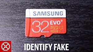 How to Identify a Fake <b>Samsung</b> Micro SD Memory <b>Card</b> - YouTube