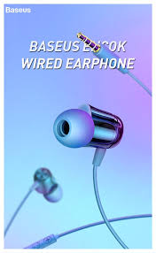 <b>Baseus Encok</b> Wired Earphone <b>H13</b> Style:... - Baseus Queensbay ...