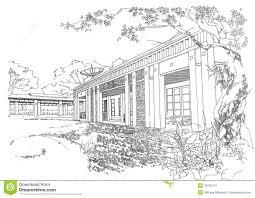 interior architecture construction landscape sketc stock photo interior architecture construction landscape sketch stock photos