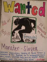 "grendel ap english 12 choice 1 journal entry ""wanted"""