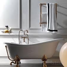 <b>KERASAN Retro Ванна</b> 170х80см белая на ножках бронза арт ...