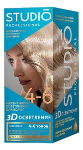 <b>Интенсивный осветлитель для волос</b> 3D осветление 2*25г ...