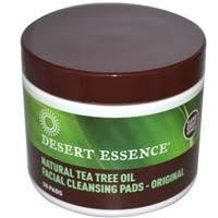 Desert Essence, <b>Daily Facial Cleansing Pads</b>, 50 Pads ...