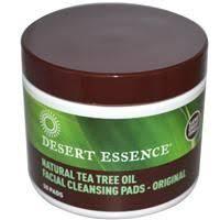 Desert Essence, <b>Daily Facial Cleansing Pads</b>, 50 Pads ...