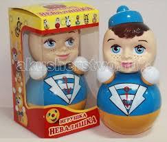 <b>Развивающая игрушка Russia Неваляшка</b> 6С-0017 22.5 см ...