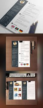 Designer Resume Template With Cover Letter Free Psd Download