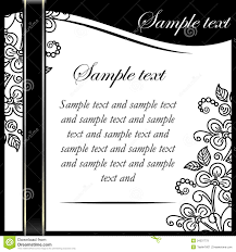 doc black and white wedding invitation templates invitation template royalty images image 34337779 black and white wedding invitation templates