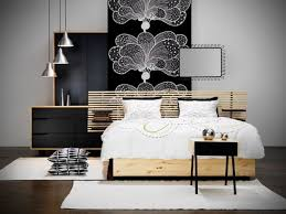 black metal canopy bed exciting bedroom design for wall with contemporary wall decor along wooden bed and white bedding also black white style modern bedroom silver