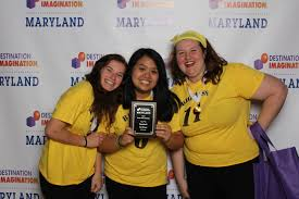 spotlights eleanor roosevelt and bowie hs destination immagination team advances to global finals