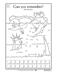 Kindergarten, Preschool Math Worksheets: Dinosaur connect the dots ...Skills. Coloring, Connect the dots ...