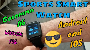 Tested! <b>Go,Comma</b> A6 Fitness Band - First Look - YouTube