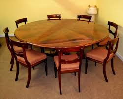 7ft dining table:  b ft regency flame mahogany jupe dining table  chairs