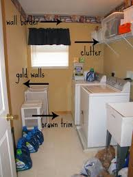 decoration diy small laundry room makeover with light gold paint wall interior color decor plus mounted bedroom furniture interior fascinating wall