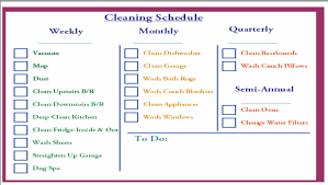 commercial kitchen cleaning schedule template com kitchen cleaning schedule mishistoriasdeterror
