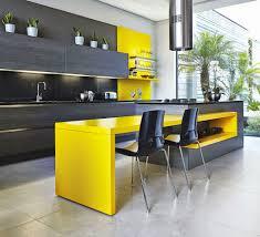 contemporary yellow kitchen ideas ebony and energy kitchen design  ebony and energy modern kitchen homeb