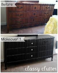 diy chalk paint recipe and a dresser makeover chalk paint furniture