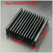 ( Free shipping ) 10 PCS black package mail 50x50x12.7mm ...