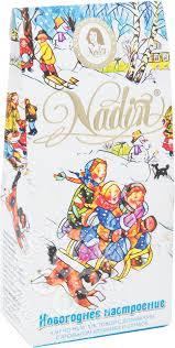 Купить <b>Чай черный</b> Nadin <b>Новогоднее</b> настроение 50г с ...