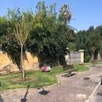Albenga, terminato il restyling delle aree verdi di via Don Isola (FOTO)