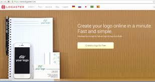 cara mudah membuat logo online dengan logaster blog sederhana kemudian anda akan diminta mengisikan apa nama sahaan atau bisnis anda di kolom your company sebagai contoh saya masukan blog sederhana karena