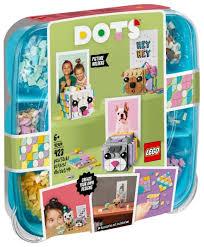 <b>Конструктор LEGO DOTS</b> 41904 <b>Подставки</b> для фото Животные ...