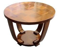 french art deco rosewood palissandre parquetry coffee table art deco style furniture occasional coffee