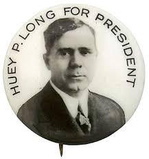 「Huey Long, a powerful senator from Louisiana」の画像検索結果