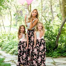 2019 <b>Summer Family Matching clothes</b> Mom and daughter <b>dress</b> ...