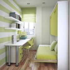great small space officebedroom those are bunk beds love the color green box room office ideas