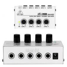 <b>Пульт</b> Behringer Micromix MX400