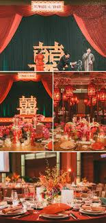 chinese style decor: the ultimate s shanghai themed oriental red and gold wedding old shanghai chinese wedding decororiental