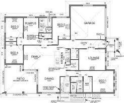 Floor Plan House Design   Bedrooms  Theatre Room  Internal    Floor Plan House Design   Bedrooms  Theatre Room  Internal Laundry  Bathrooms