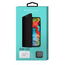 Чехол <b>Borasco Book Case для</b> Xiaomi Mi 9T (черный) — купить в ...