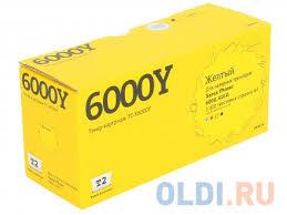 <b>Картридж T2</b> TC-X6000Y / <b>106R01633</b> для Xerox Phaser 6000 ...