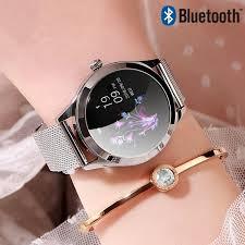 IP68 Waterproof Smart Watch <b>Women Lovely Bracelet</b> Heart Rate ...