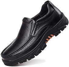 CREPUSCOLO Men's Genuine Leather Casual ... - Amazon.com