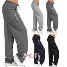 Plus Size S-5XL New Women Drawstring Sport Pants Sexy ... - Vova
