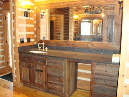brilliant bathroom captivating rustic bathroom vanity cabinets design pine for rustic bathroom mirrors brilliant bathroom vanity mirrors decoration black wall