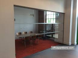 fg 6 single glazed frameless with basic vinyl designs frameless glass door office partition designs