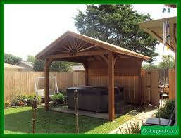 standing patio covers design ideas