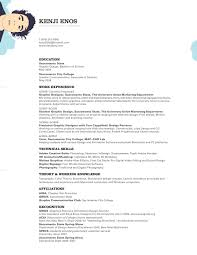 creative vs effective resume elwin lee s blog kenji2030 com art kenjiboy resume