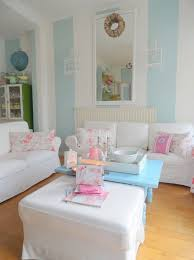 elegant shabby chic living room interior design pastel blue wall colors white furniture blue shabby chic furniture