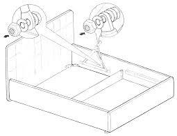 Инструкция по <b>сборке</b> кровати с <b>подъёмным механизмом</b>