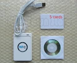 <b>NFC ACR122U</b> RFID Contactless smart <b>Reader</b> & <b>Writer</b>/USB + SDK ...