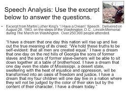 i have a dream speech analysis essay  wwwgxartorg martin luther king i have a dream speech analysis essaync s expansion of civil rights amp