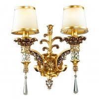 <b>Бра Odeon Light</b> Peta <b>2803</b>/<b>2W</b> золото E14 2х60W 220V, цена ...